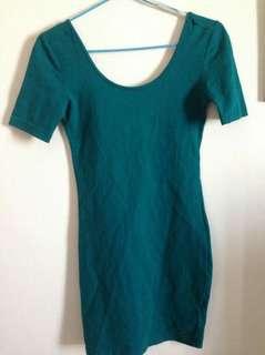 Backless fit Dress