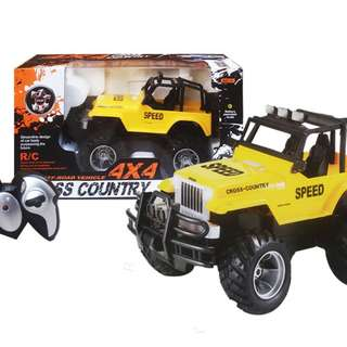 Mainan Remote Control JEEP 4X4 CROSS COUNTRY