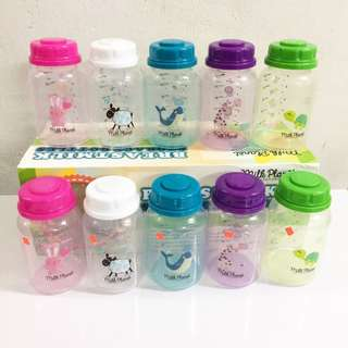 Breastmilk Storage Bottles Milk Planet (10 bottles) #Ramadan50