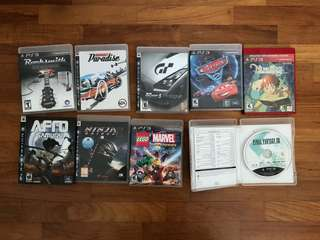 PS3 Games Sony Playstation