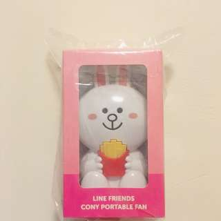 Line Friends cony fan 風扇
