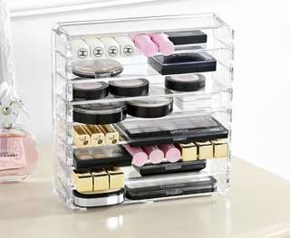 [PO9] Acrylic Makeup Storage Box