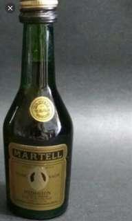 80年代,金牌馬爹利vsop 30ml酒辦一支