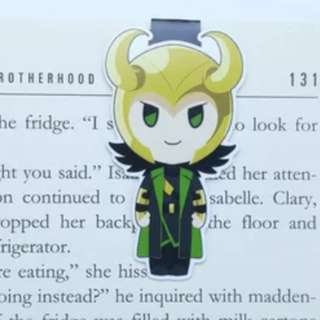 Thor and loki magnetic bookmarks