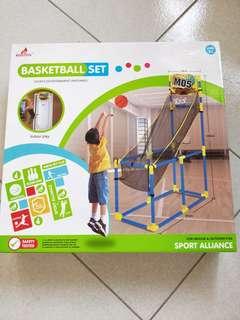 🚚 《🚫免運費》麗貝樂組合籃球架