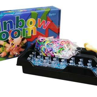 Mainan Edukasi Anak RAINBOW LOOM CHOON