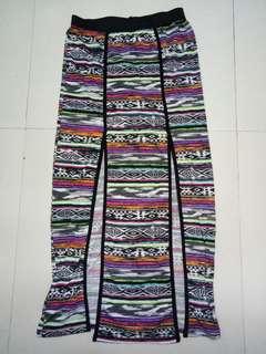 Boho Skirt with Slit