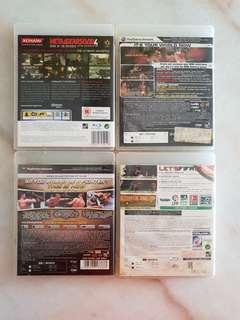 PS3 Games.