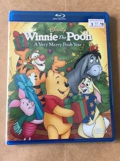 (Brand new) Winnie the Pooh A Very Merry Pooh Year Blu Ray