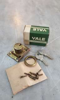 Old Yale Cupboard Lock