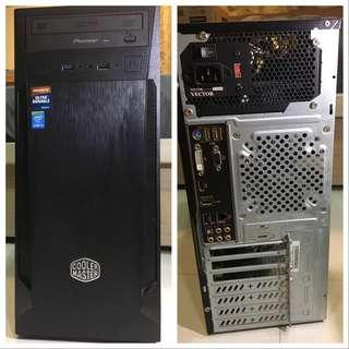 二手電腦主機 4核intel i5-4460,2G獨顯,8G RAM,120GB SSD
