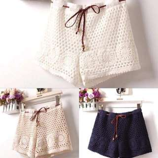 💗Knitted Shorts 💗