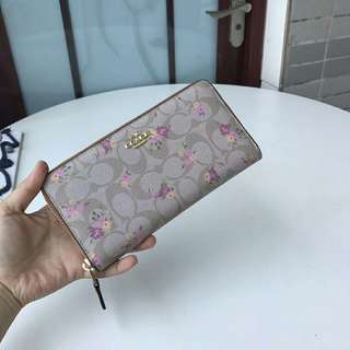 Coach Wallet flower