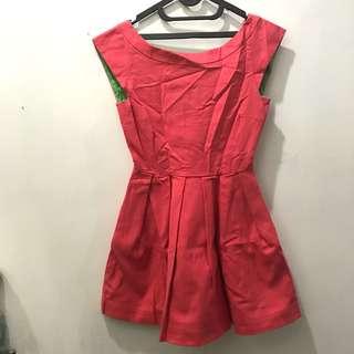 Zara mini dress pink