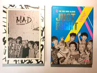 Got7 淨專 ( Mad , Just Right)