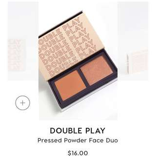 Colourpop double play pressed powder face duo