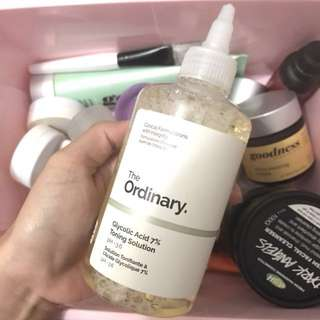 The Ordinary- Glycolic Acid 7% Toning Solution