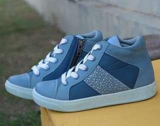 Sepatu Lamino Blue Sky