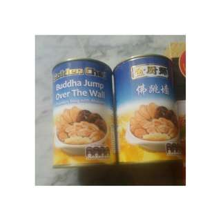 30% off. Golden chef Buddha jump over the wall cheap selling RP 12.55, exp 2020