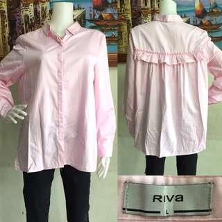 RIVA Back Frill Blouse