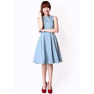 A For Arcade Ambrosia Suit Dress In Sky
