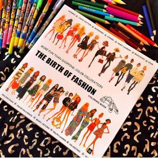 Fashion Lux Coloring Book