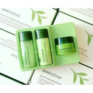 Innisfree Green Tea Trial Kit