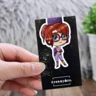 Fangirl magnetic bookmark