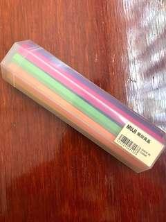 無印Muji10色水筆