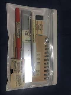 Muji Stationery Set