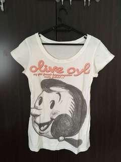奧莉薇短袖T恤