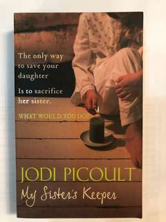 Jodi picoult- my sister's keepers