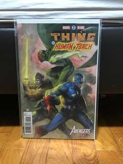 Marvel two-in-one #2 Dell Otto variant