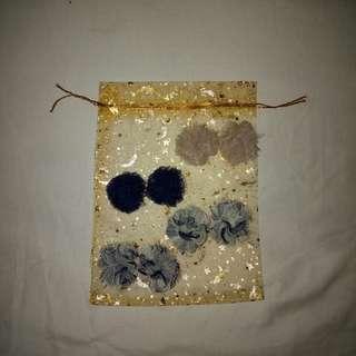 Fuzz earrings
