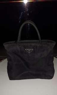 Vintage prada small nylon hand bag