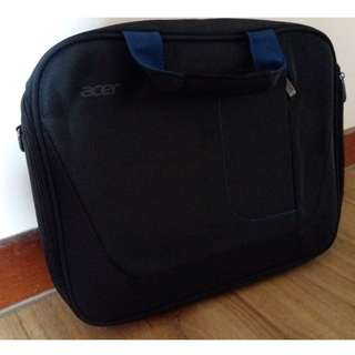 Brand new black laptop bag (Acer)