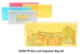 Wholesale PP Zip Lock Organizer Bag (S)