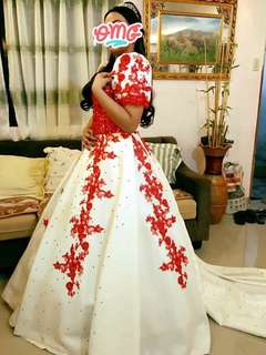 BALL GOWN for Sagala, debut etc.