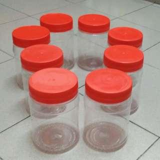 3_Plastic Cookies Containers - Medium
