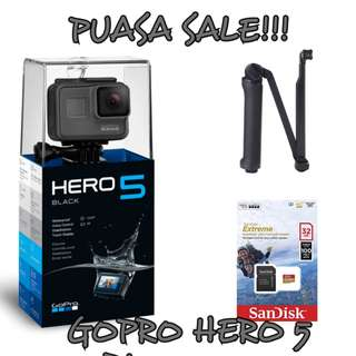 GoPro Hero 5 Black (FULL BASIC SET?