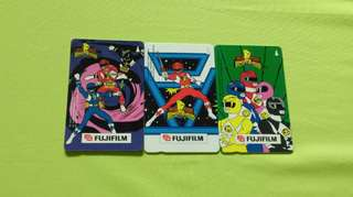 Power Rangers Telephone Card