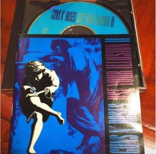 Classic GNR - USE YOUR ILLUSION II incld CIVIL WAR, KNOCKIN ON HEAVEN'S DOOR, YOU COULD BE MINE, DON'T CRY etc