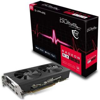 Sapphire AMD Pulse RX580 4GB Gaming Graphics Card - SKU: 11265-09-20G