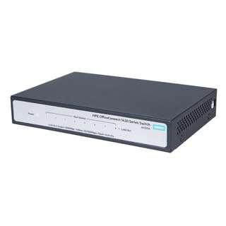 全新未拆 HPE OfficeConnect 1420-8G 8埠無網管交換器 L2 Switch 網路/集線器/路由器