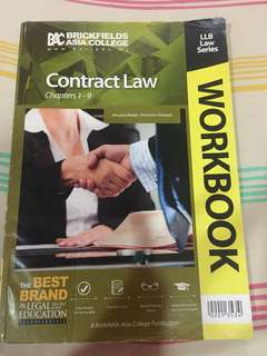 Contract Law Workbook