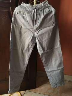 Light blue denim chino pants