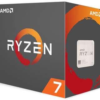 AMD Ryzen 7 1800X 8 Core AM4 CPU (No CPU Cooler) - YD180XBCAEWOF - SKU: YD180XBCAEWOF