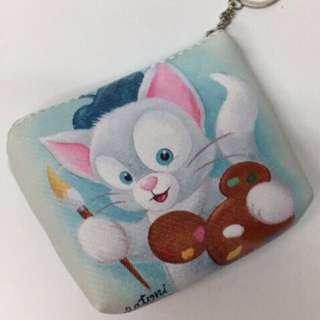 🚚 畫家貓鑰匙圈零錢包