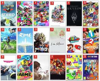 Clearance Nintendo Switch game