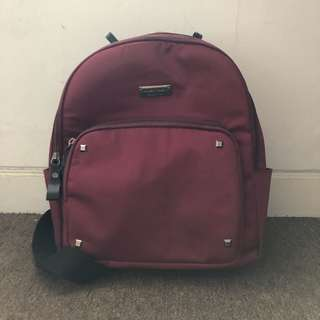 Mango Touch Red Bagpack